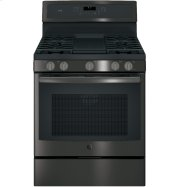 "GE Profile™ Series 30"" Free-Standing Gas Convection Range Product Image"