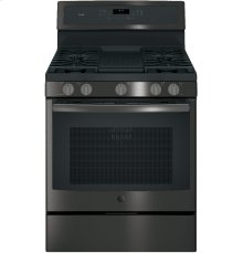 "GE Profile™ Series 30"" Free-Standing Gas Convection Range"