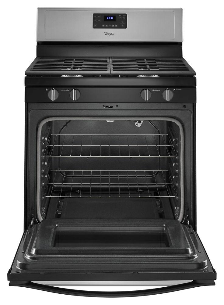 buy whirlpool ranges in ma gas wfg515s0es. Black Bedroom Furniture Sets. Home Design Ideas