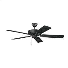 52 Inch Kichler Basics Patio Ceiling Fan SBK