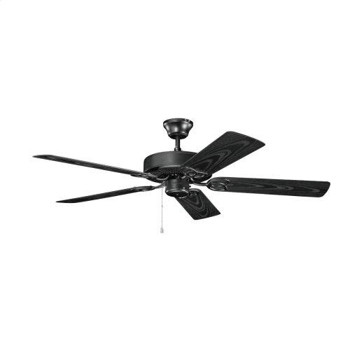 52 Inch Kichler Basics Patio Ceiling Fan SBK