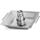 Stainless Steel Chicken Roaster and Wok Product Image