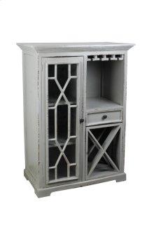 CC-CAB1948LD-AG  Cottage Antique Gray Wine Server