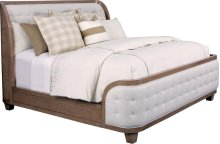 Anthony Baratta Luna Upholstered Bed (Queen)