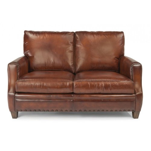 Maxfield Leather Loveseat