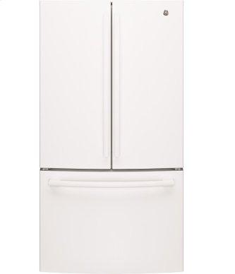 """36"""" Bottom mount French door refrigerator, 27 cu.ft"""