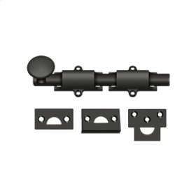 """6"""" Surface Bolt, HD - Oil-rubbed Bronze"""