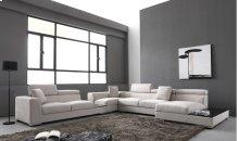 Divani Casa Forte - Modern Modular Fabric Sectional Sofa