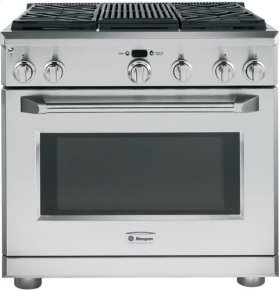 "36"" Pro Range - Dual Fuel with Grill"