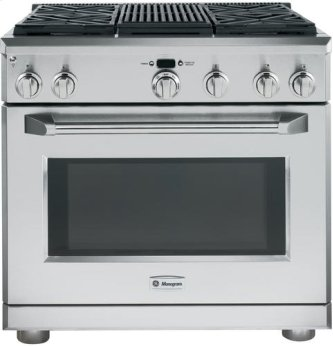 """36"""" Pro Range - Dual Fuel with Grill"""