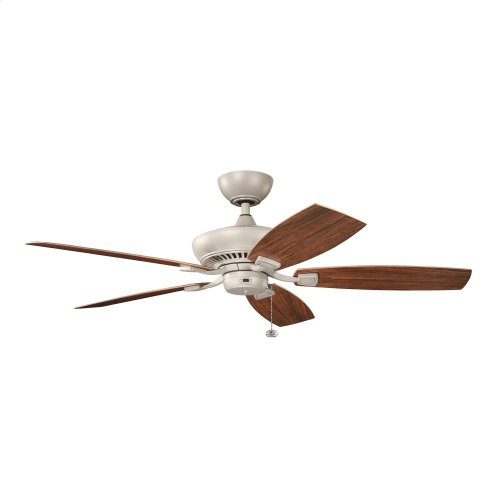 "Canfield Climates 52"" Fan Antique Satin Silver"