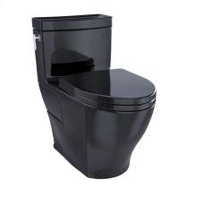 Aimes® One-Piece Toilet, 1.28GPF, Elongated Bowl - Ebony
