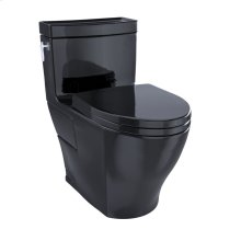 Aimes® One-Piece Toilet, 1.28GPF, Elongated Bowl - Ebony