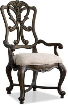 Rhapsody Wood Back Arm Chair