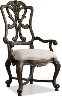 Rhapsody Wood Back Arm Chair
