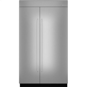"Jennair48""(w) Fully Integrated Built-In Side by Side Refrigerator Panel Kit."