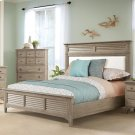 Myra - Full/queen Upholstered Headboard - Natural Finish Product Image