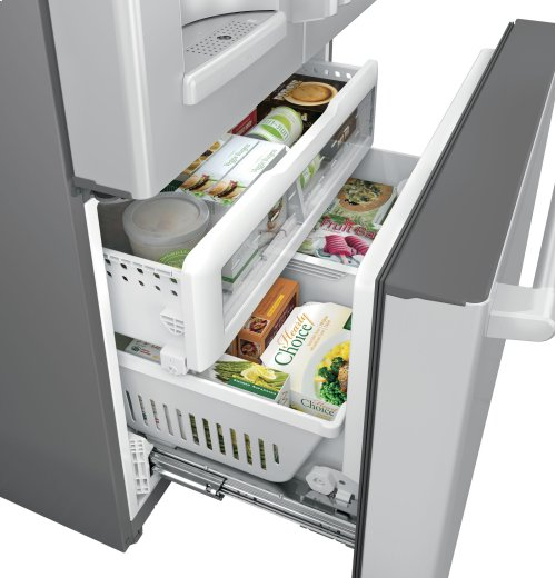 GE Cafe™ Series ENERGY STAR® 27.8 Cu. Ft. French-Door Refrigerator with Keurig® K-Cup® Brewing System
