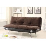 Casual Dark Brown Sofa Bed Product Image
