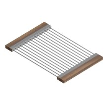 Drying Rack 215207 - Stainless steel sink accessory , Walnut