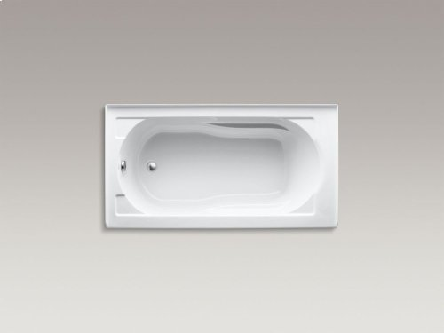"""Dune 60"""" X 32"""" Alcove Bath With Integral Apron, Integral Flange and Left-hand Drain"""