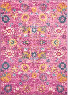 Passion Psn01 Fuchsia Rectangle Rug 5'3'' X 7'3''