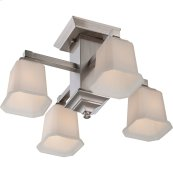 Quoizel Semi-Flush Mount in Brushed Nickel