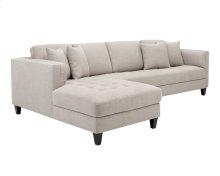 Arthur Sofa Chaise - Beige