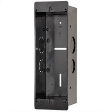 NuTone KNOCK Flush Mount Smart Video Doorbell Camera Rough-In Box
