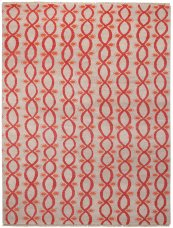 Infinity Bisque Hand Knotted Rugs