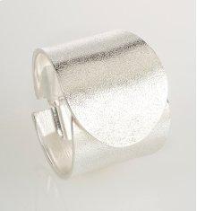 BTQ Silver Overlap Cuff