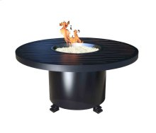 Outdoor Fire Pit : Natural Gas Monaco Chat 50""