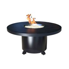 """Outdoor Fire Pit : Natural Gas Monaco Chat 50"""""""