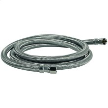 Braided Stainless Steel Ice Maker Connector (8ft)