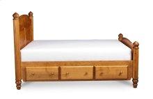 Georgia Under-Bed Storage, 3-Drawers Each Side