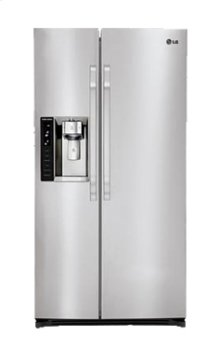 LG Studio - Large Capacity Counter Depth Side-By-Side Refrigerator with Ice & Water Dispenser