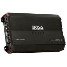 """Elite 1600W 4 Channel Full Range, Class A/B Amplifier Dimensions 11.9""""L 7""""W 2.25""""H"""