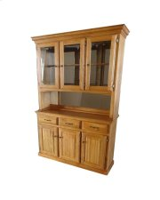 "60"" Hutch/buffet W/3 Half Doors Product Image"