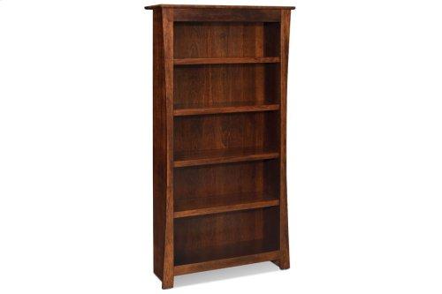Garrett Open Bookcase, Garrett Open Bookcase, 5-Adjustable Shelves