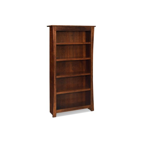 Garrett Open Bookcase, Garrett Open Bookcase, 3-Adjustable Shelves