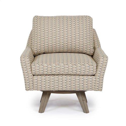 SEYMOUR Swivel Barrel Chair