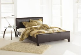 Euro Platform bed (sable) - QUEEN