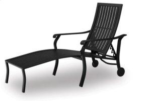 Coordinate Aluminum Arm Chaise w/ Wheels