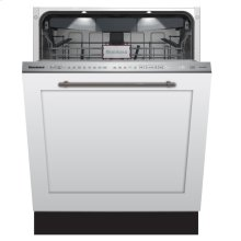 "24"" Tall Tub dishwasher 9 cycles top control 3rd rack full integrated panel overlay self clean 39dBA"