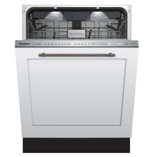 """24"""" Tall Tub dishwasher 9 cycles top control 3rd rack full integrated panel overlay self clean 39dBA"""