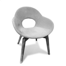 Occasional Contemporary Chair Frm,Lthr