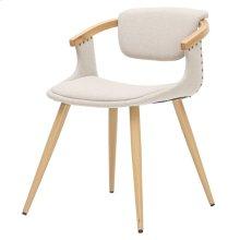 Darwin KD Fabric Bamboo Chair, Stokes Linen/Natural