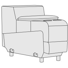 Vittorio Wedge Console