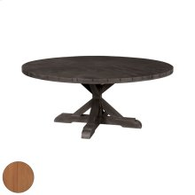 72-inch Round Dining Table