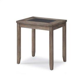 Emerald Home Nevada Nesting Tables-2 Pcs Wood W/tile Insert T925-2pcnest